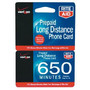 RITE AID 650 Minute Prepaid Calling Card  Brand may vary by store.<br />price with wellness+ card