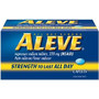 ALEVE Caplets 100 - 200 ct., Arthritis Caplets or  Tablets or Liquid Gels 40 - 80 ct. Buy One, Get Second  One at 50% Off Regular Retail price with wellness+  card