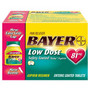 Bayer Aspirin Low Dose 81 mg. 108 - 200 ct., 325 mg.  50 - 200 ct., Women's 60 ct., Back & Body 50 - 100 ct.,  AM 50 ct. Buy One, Get Second One at 50% Off Regular  Retail price with wellness+ card