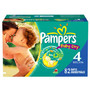 Pampers Cruisers or Baby Dry Big Pack Diapers Limit 2 +UP offers per household<br />price with wellness+ card
