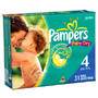 Pampers Diapers or Easy Ups Jumbo Pack Limit 4 offers per household <br />price with wellness+ card