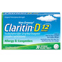 Any Size Claritin D 10 - 30 ct. (Available behind the pharmacy, not available in all states.) With In-Ad Coupon Limit 1 +UP offer per household<br />price with wellness+ card
