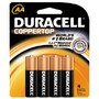 DURACELL Coppertop Batteries AA and AAA - 4 Pack C and D - 2 Pack 9 Volt - 1 Pack Ultra Advanced AAA and AA - 4 Pack Limit 1 offer per household<br />price with wellness+ card