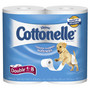 Cottonelle Bath Tissue Double Roll, 4 Pack price with  wellness+ card